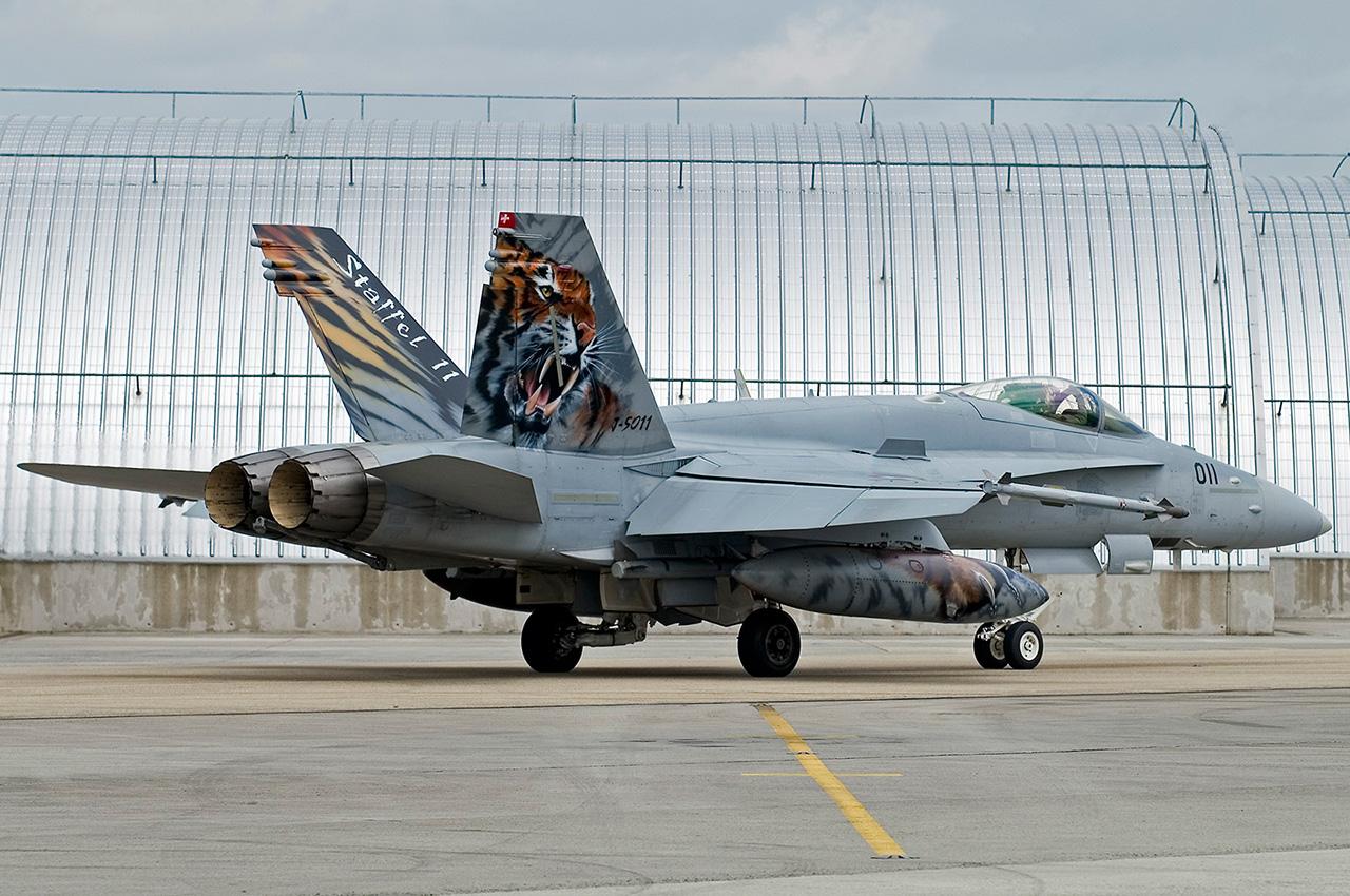 NATO Tiger meet 2008: Switzerland